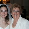 The bride and Aunt Deedee