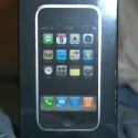 The iPhone box from the front