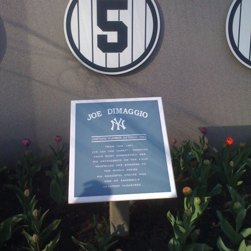 Monuments for Yankee greats from the past