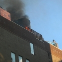 And now you know why you aren't allowed to BBQ on your roofdeck!