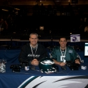 Dave and I at the Eagles draft table (check another thing off the Bucket List)