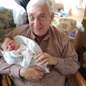 Grandpa Howie with Sara