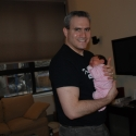 Daddy with Sara