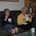 Great Grandma Ruth and Great Great Aunt Roberta came to visit!