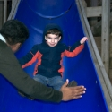 Michael on the slide