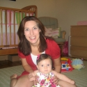 Mommy and Sara having fun