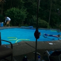 The pool was beautiful!