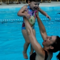 Pool with Mommy!