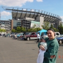 3:Julia with Uncle Danny at the Linc