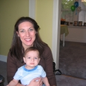 Aunt Jenny and the birthday boy